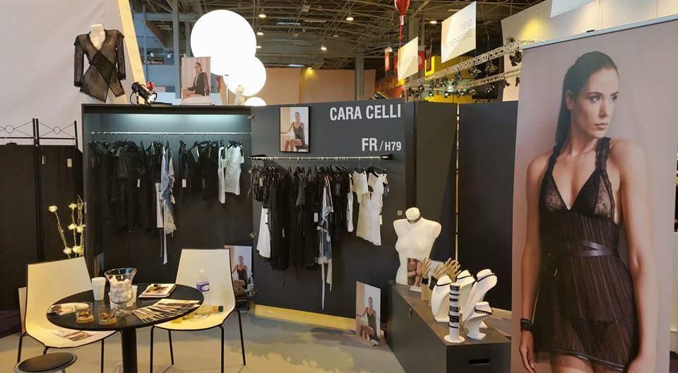 Cara celli au salon international de la lingerie 2017 for Salon dela franchise
